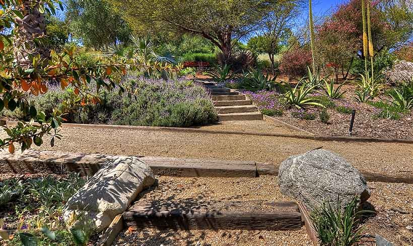 Yucca Mount Stairs