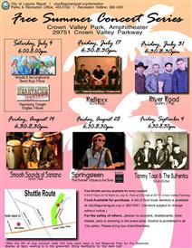 Summer Concert Series Featuring River Road