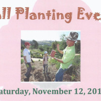 Fall Planting Event